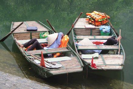 slapen in vissersboot