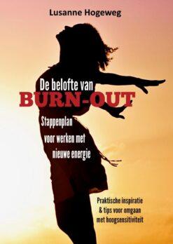 Cover Burn-out boek Lusanne Hogeweg