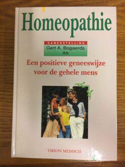 homeopathie een positieve geneeswijze voor de gehele mens frontt