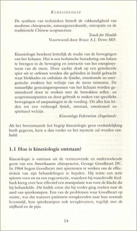 met toegepaste kinesiologie 2