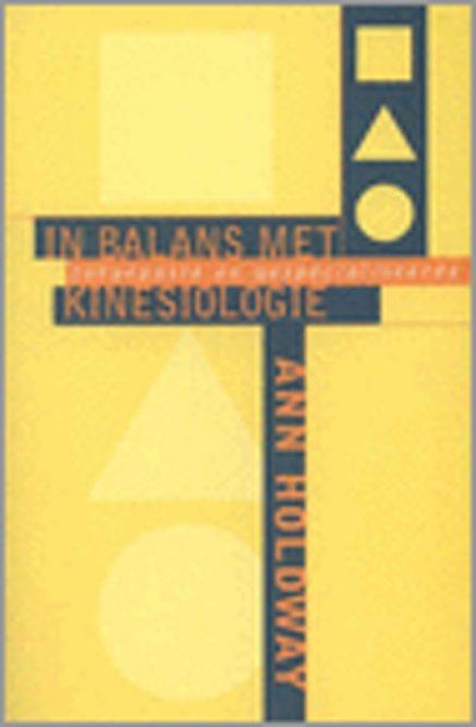 in balans met toegepaste kinesiologie front